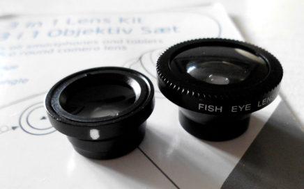 Kameraobjektiv til smartphone