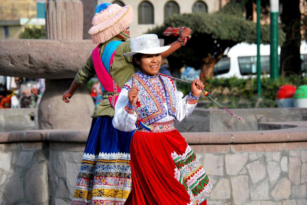 Peru- en verden i farver